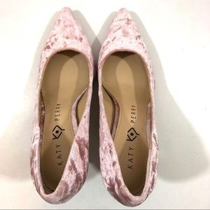 Katy Perry Collections Shoes - Katy Perry The Sissy Crushed Velvet Pump